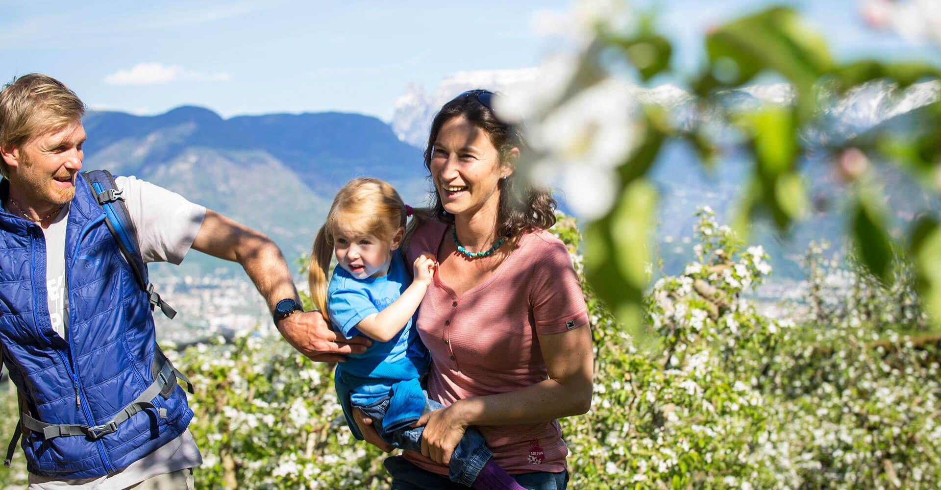 Frühlingsurlaub in den Dolomiten in Südtirol
