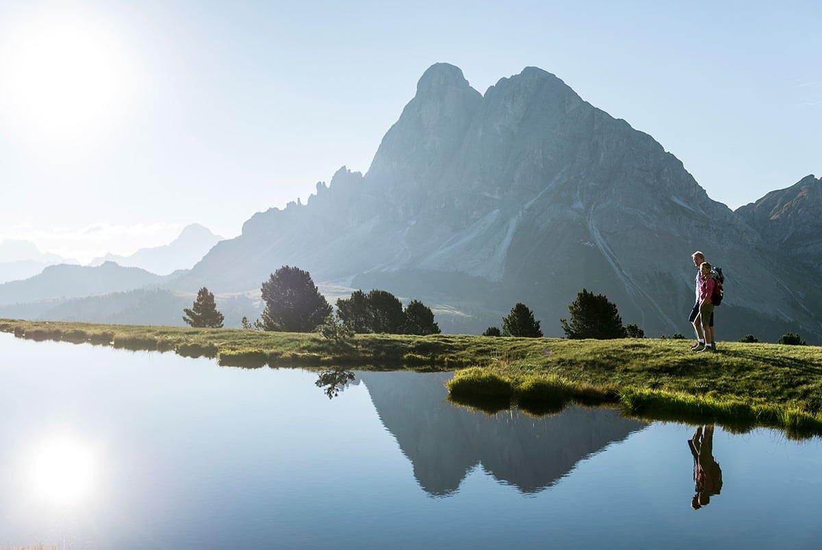 Wanderurlaub in Südtirol / Dolimiten