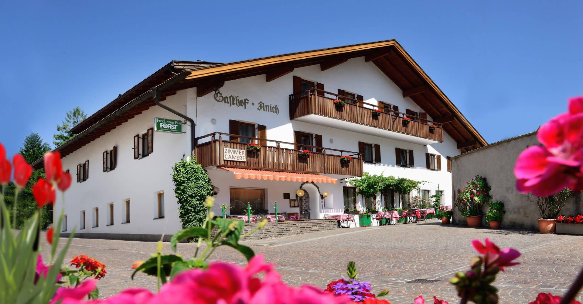 Gasthof Anich - Landgasthof Südtirol