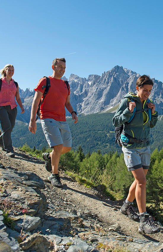 Excursions to the alpine heights of the Dolomites