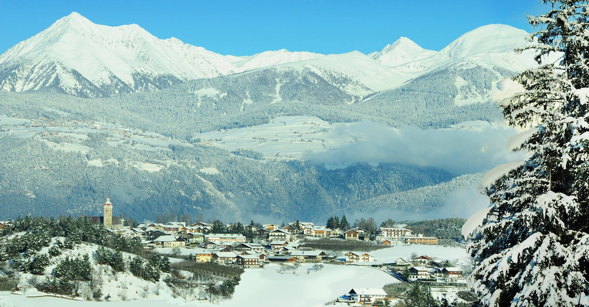 Winter in Natz/Schabs in Südtirol