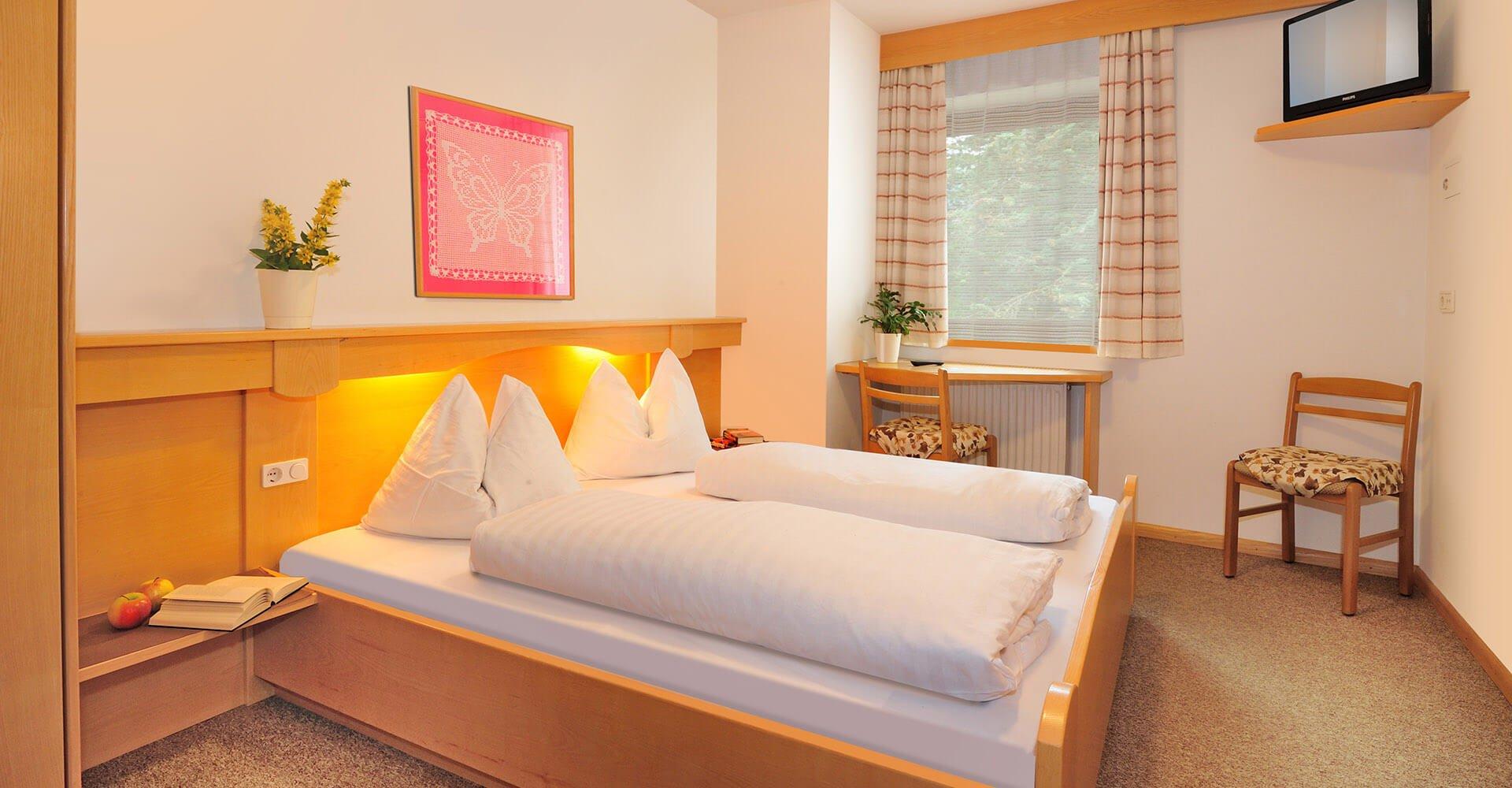 Unterkunft in Südtirol: Zimmer und Suiten in Natz/Schabs