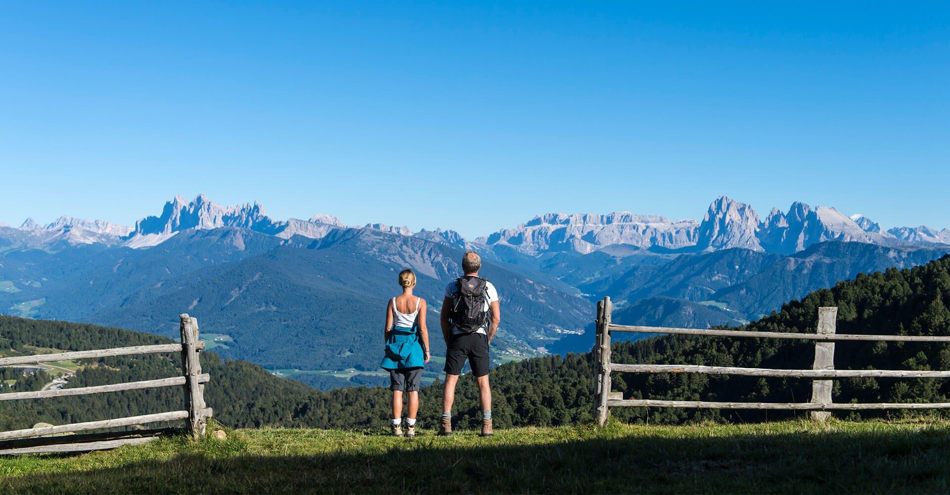 Wanderurlaub in den Dolomiten Gitschberg/Jochtal
