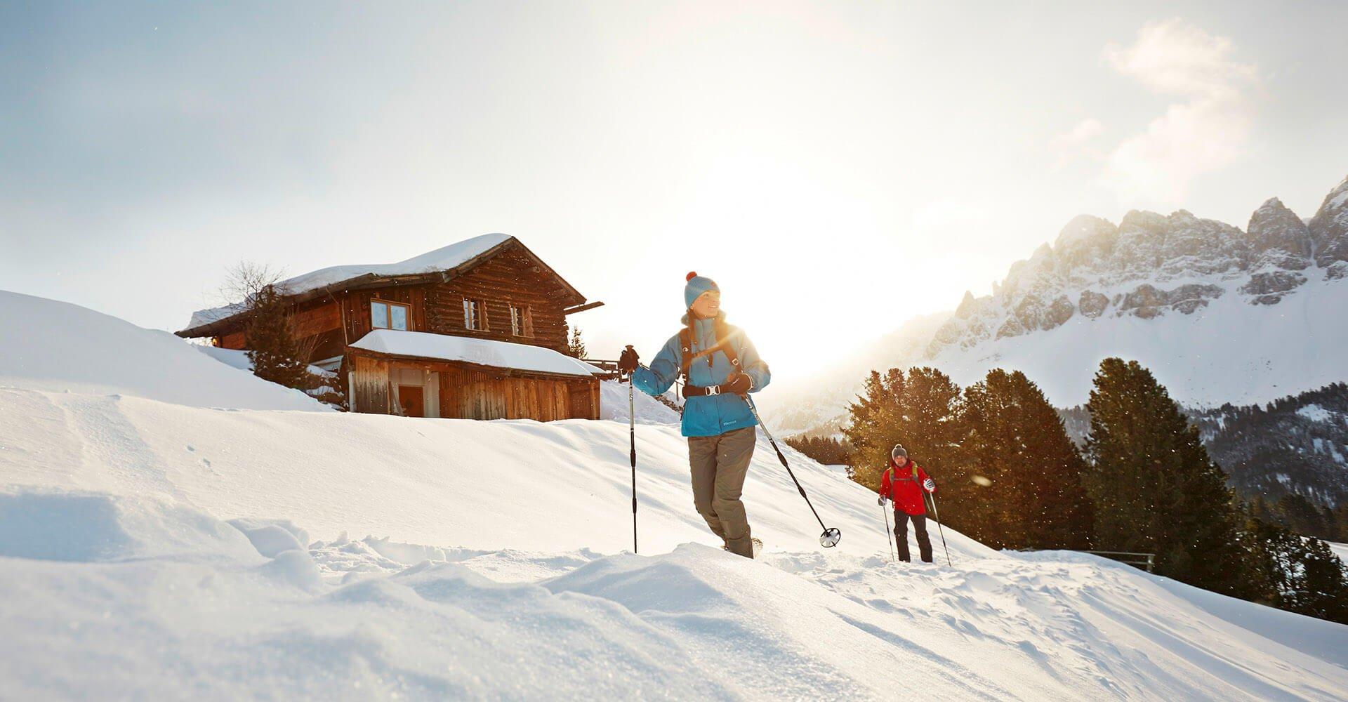 Skiurlaub im Eisacktal in den Dolomiten